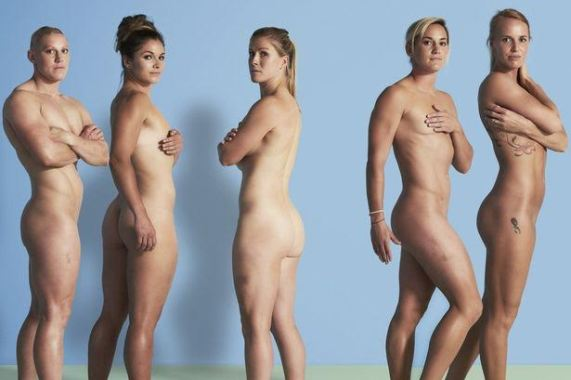 Team Great Britain athletes pose nude to send a powerful ...
